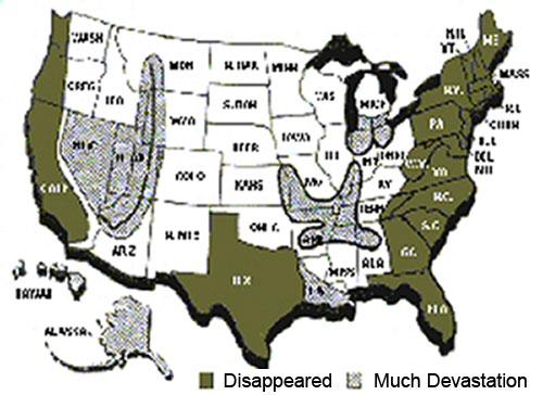 IF DISASTER STRIKES SAFE ZONES IN AMERICA - Map of us safe zones